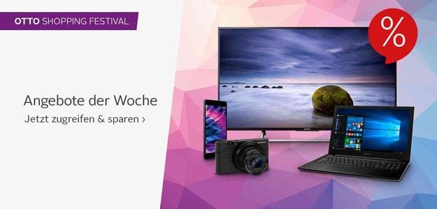 Otto Shopping Festival mit Technik-Sale und Rabatte auf Handy, Smartphone, Tablet und mehr