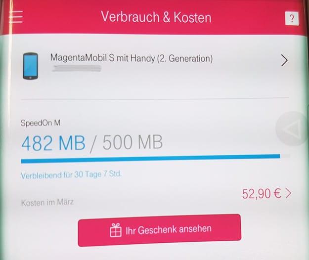 Telekom MagentaService-App für iOS oder Android installieren und 300 MB Datenvolumen gratis