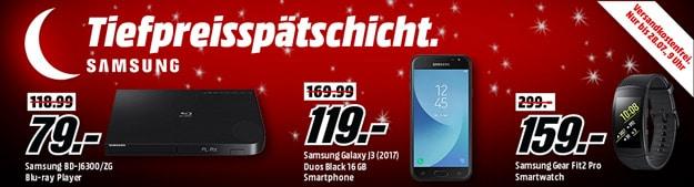 MediaMarkt Tiefpreisspätschicht: Samsung Smartphones & mehr zum Sparpreis - Galaxy Note 8 für 599 €!!!