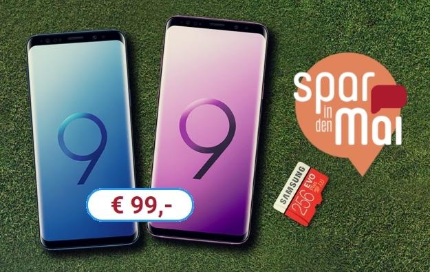 Samsung Galaxy S9 / S9 Plus + o2 Free M bei Sparhandy