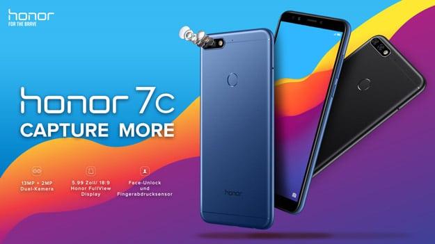 Honor 7C mit Vertrag günstig kaufen: Preis, Specs und Test