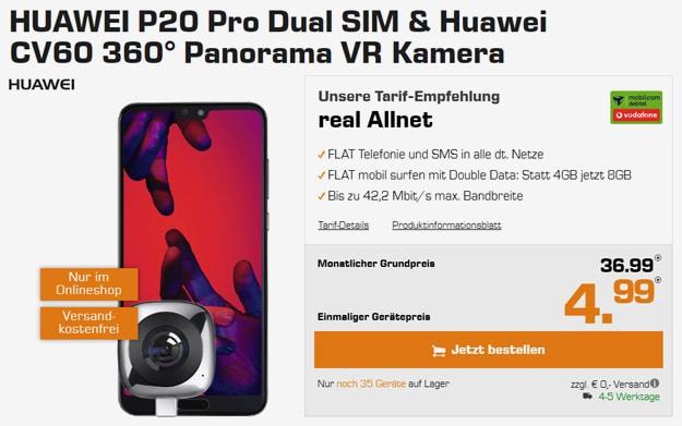 huawei p20 pro dual vodafone real allnet