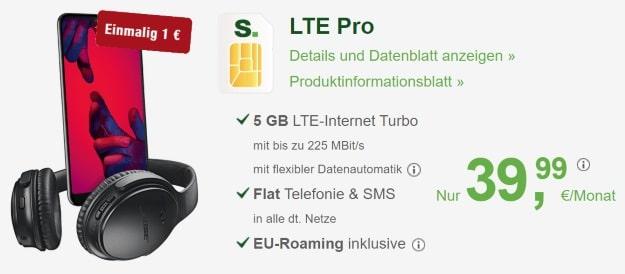 Huawei P20 Pro + smartmobil LTE Pro