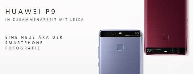 Huawei P9 mit Vertrag günstig kaufen - Specs. Preis und Test
