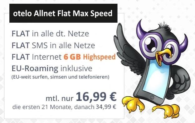 otelo Allnet-Flat Max Speed