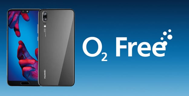 Huawei P20 mit o2 Free M