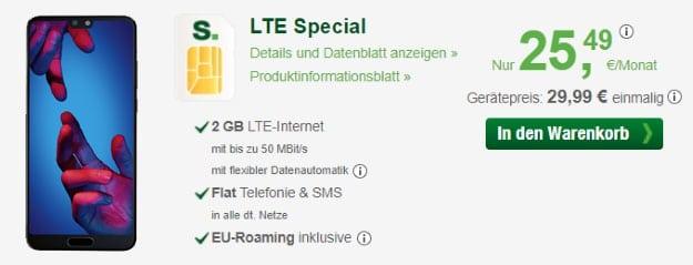 Huawei P20 + smartmobil LTE Special