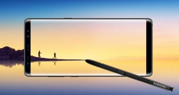 Samsung Galaxy Note 8 Promo-Bild von Samsung