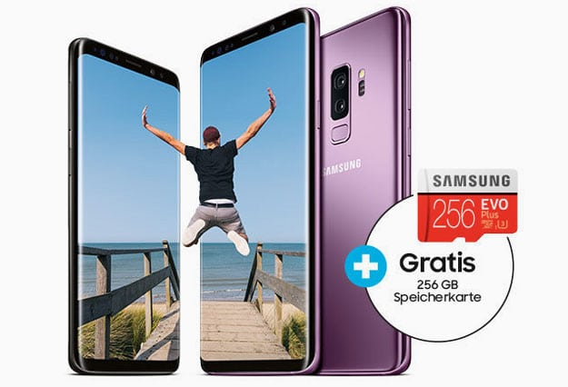 Samsung-Aktion: Handy kaufen & gratis 256GB Speicherkarte im Wert von 99 € abgreifen