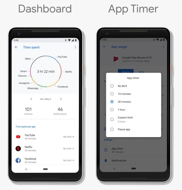 Android 9 Pie: Digitales Wohlbefinden