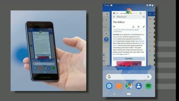 Android 9 Pie: Neue Gestensteuerung
