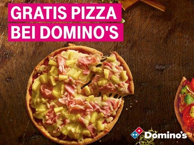 Telekom Megadeal KW21: Gratis Dominos-Pizza bei Selbstabholung