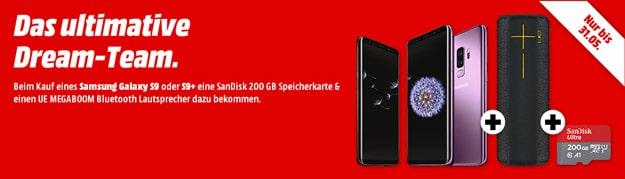 Samsung Galaxy S9 / S9 Plus Aktion mit Direktabzug