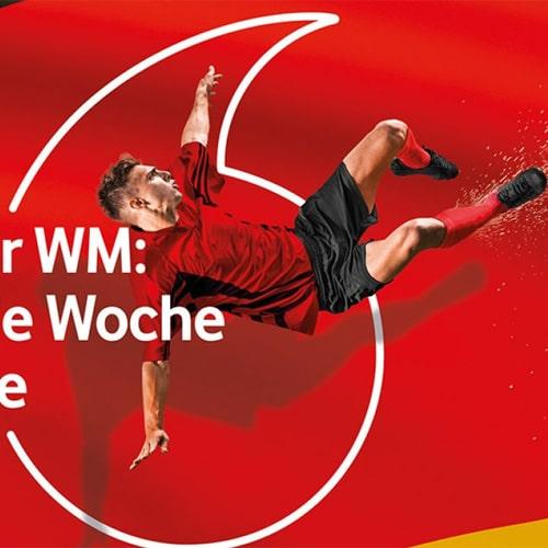 Vodafone GigaGoals - Fußball WM 2018 - Aktionen Handy, Smartphone Festnetz, Mobilfunk Tarife