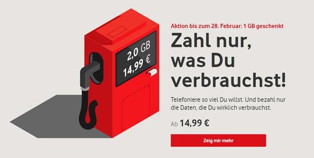 Vodafone IN: Handytarif mit flexiblem Datenvolumen - doch für wen lohnt sich der Aktionstarif?