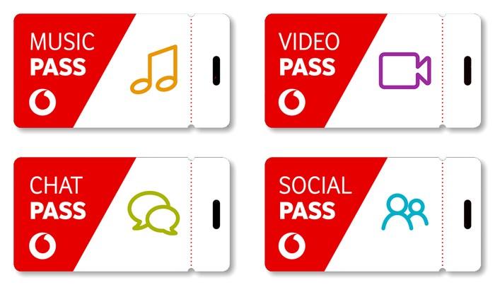 Vodafone Pass Übersicht