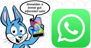 Handyhase WhatsApp News anmelden