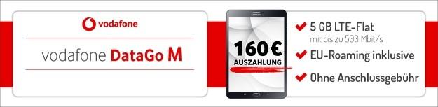 Vodafone DataGo M mit 160 € Auszahlung ei Preisboerse24