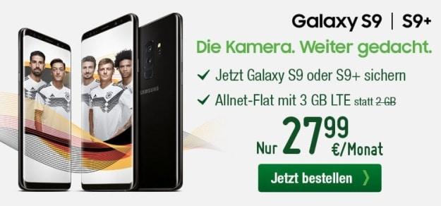 Samsung Galaxy S9 + smartmobil LTE Starter bei smartmobil