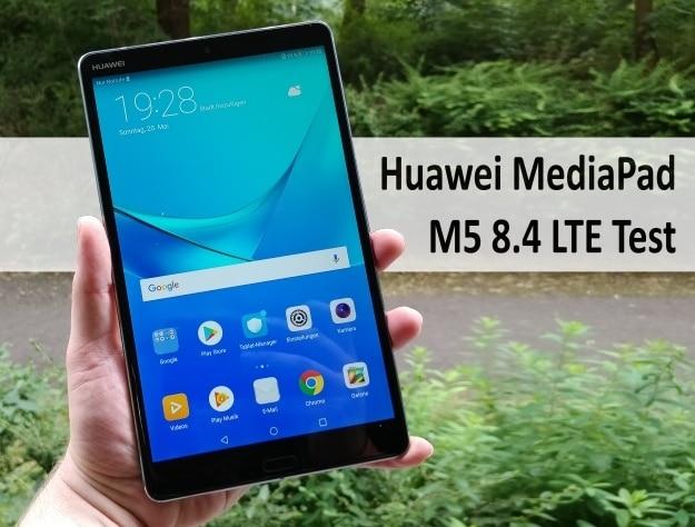 Huawei MediaPad M5 8.4 LTE Test