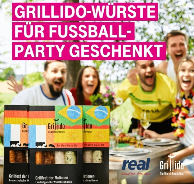 Telekom Mega Deal mit gratis Grillpaket von Grillido - abholbar bei Real