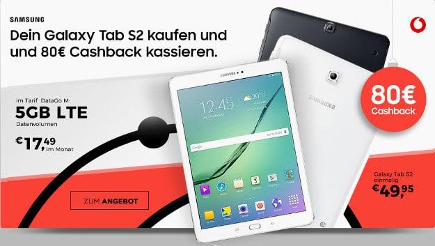 Galaxy Tab S2 9.7 LTE + Vodafone DataGo M
