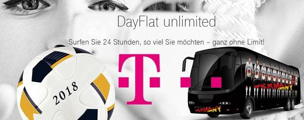 Telekom Fußball DayFlat kostenlos bestellen