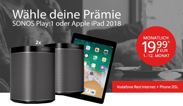 Vodafone Red Internet & Phone DSL bei modeo