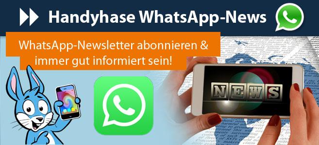 Handyhase WhatsApp News abonnieren