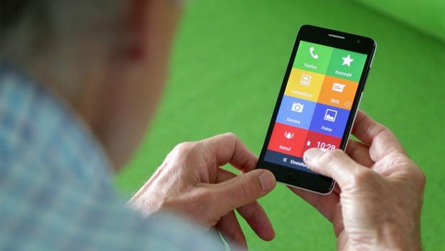 EinfachFon: Ein perfektes Smartphone für Senioren & Kinder - leichte Bedienung & trotzdem schickes Design