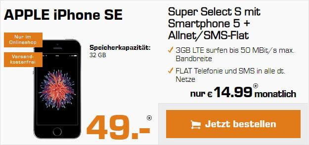 iPhone SE + Super Select