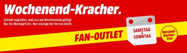 MediaMarkt Wochend-Kracher: Satte Rabatte beim Fan-Outlet sichern - Smartphones, Zubehör, TVs & vieles mehr günstiger