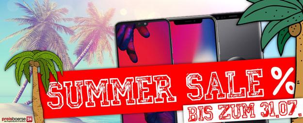 Summer Sale bei Preisboerse24: Sicher Dir noch bis zum 31.07.2018 einen Sommerdeal & gewinne eine Playstation 4 Slim