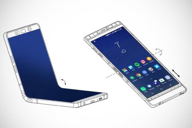 Samsung Galaxy X Konzeptzeichnung