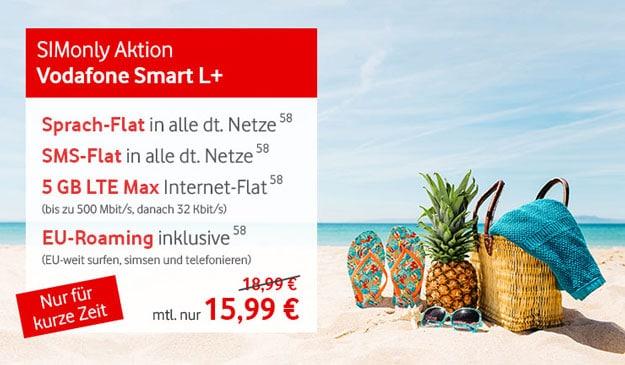 SIM-only-Knaller! Vodafone Smart L Plus
