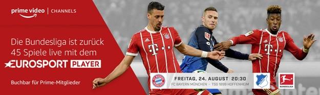 Amazon Prime Video Channel Eurosport Fußball Bundesliga