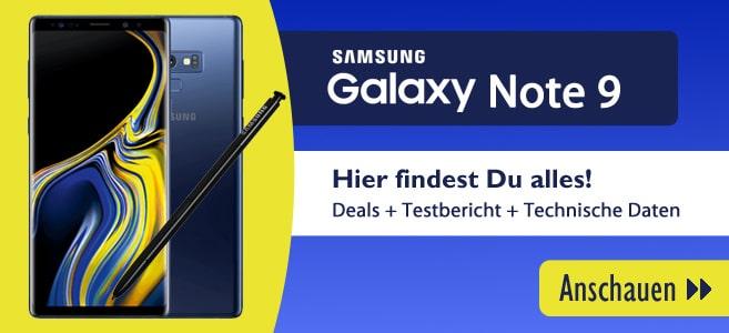 Samsung Galaxy Note mit Vertrag