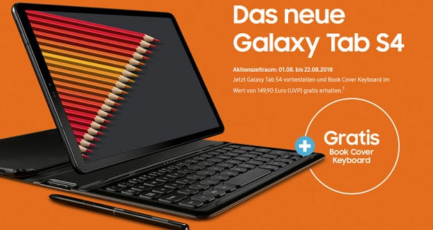 Samsung Galaxy Tab S4 mit Vertrag