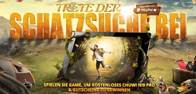 Gearbest Schatzsuche: Game spielen und tolle Preise abstauben - Biltzangebote & Wundertüte zum Sparpreis