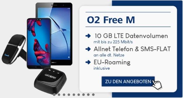 Huawei P20 + Family Pack + o2 Free M bei Preisboerse24
