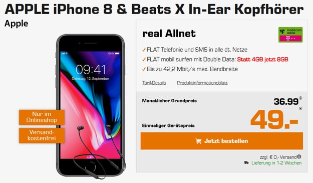 iphone 8 beats x real allnet vodafone md