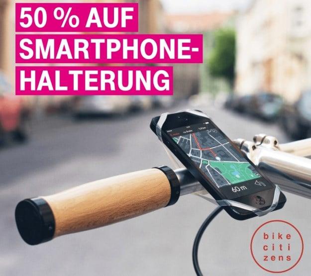 Telekom Mega-Deal KW35: 50 Prozent Rabatt für die Finn Smartphone-Halterung