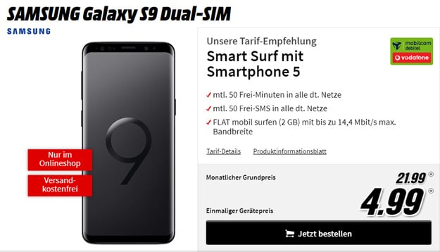 s9 vodafone smart surf md