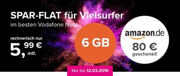 Tarifhaus 6 GB Allnet-Flat