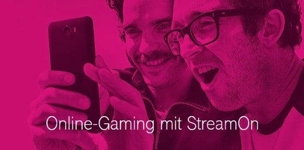 StreamOn Gaming der Deutschen Telekom