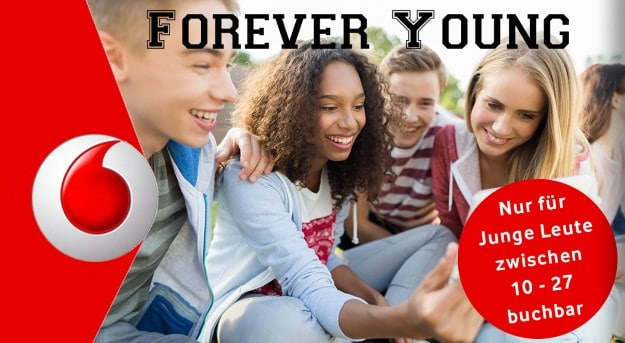 Vodafone Data Boost Young Aktion
