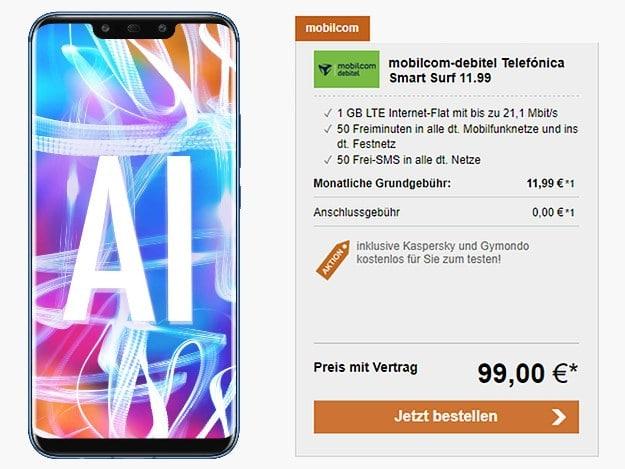 Huawei Mate 20 lite + Smart Surf LogiTel