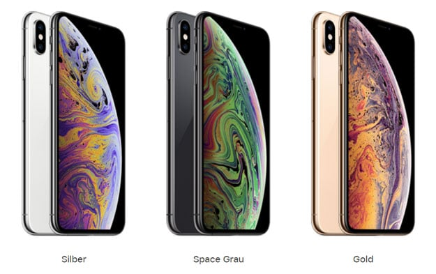iphone xs max mit vertrag alle angebote alle netze 19. Black Bedroom Furniture Sets. Home Design Ideas