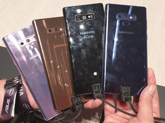 Samsung Galaxy Note 9 Test