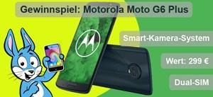 Moto G6 Plus gewinnen!
